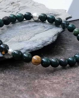 6mm Bloodstone Bracelet