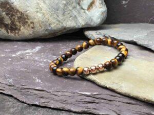 tigers eye bracelet