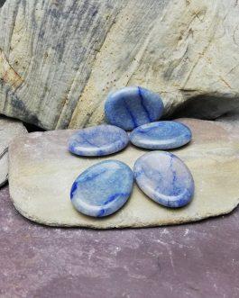 Angelite Worry Stone