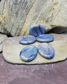 Angelite Worry Stone