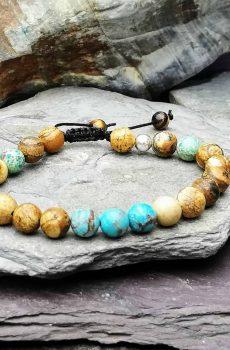 picture jasper and impression jasper bracelet