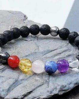 Buddha Head Chakra Diffuser Bracelet