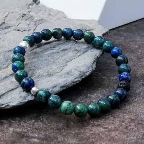 6mm Azurite Bracelet