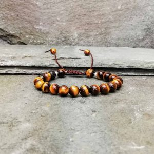 Tigers eye beaded bracelet