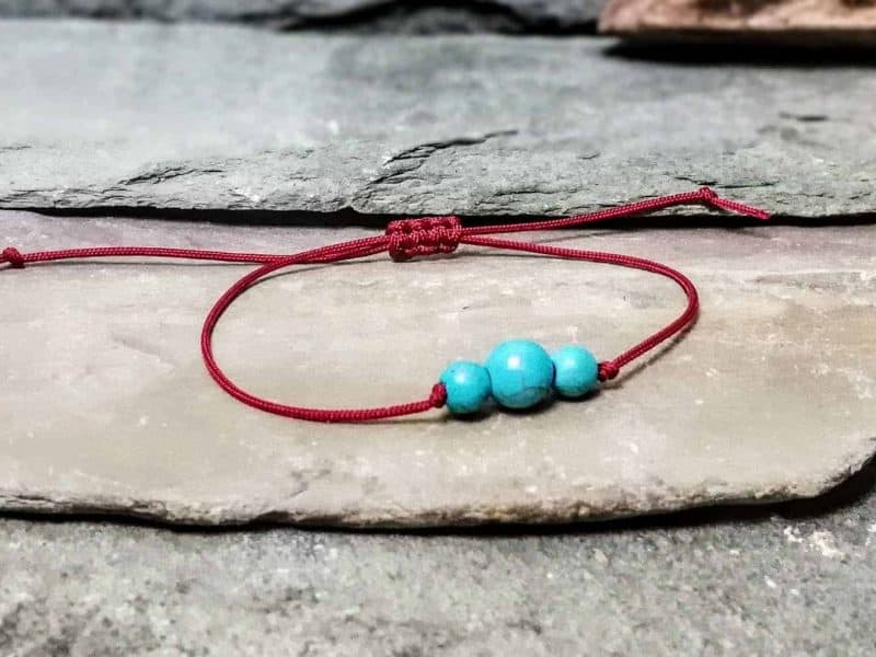Turquoise Friendship Bracelet
