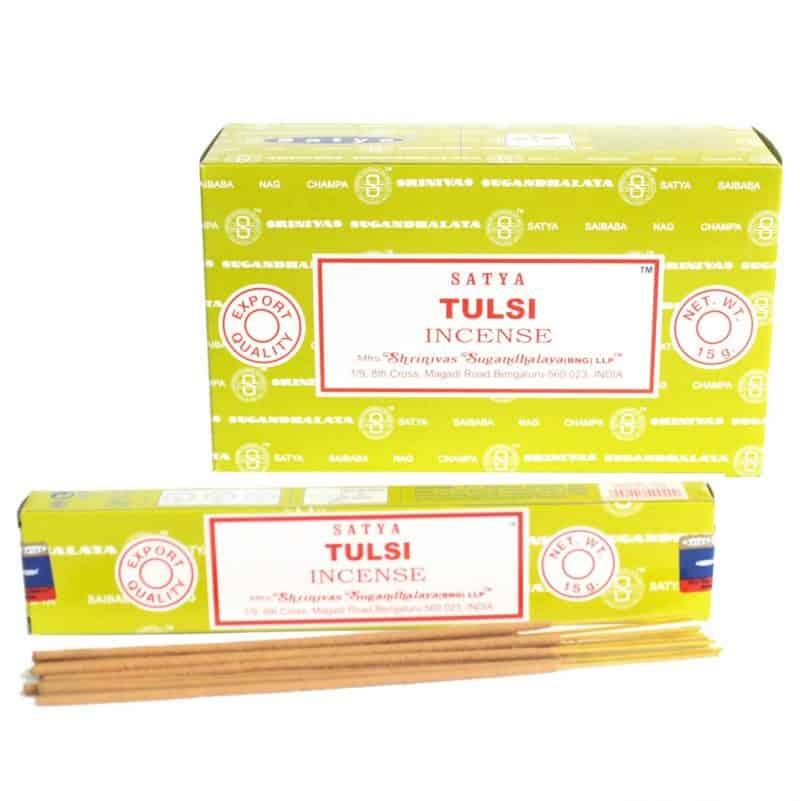 Satya Incense 15gm -Tulsi