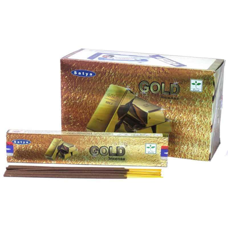 Satya Gold Incense 15gm