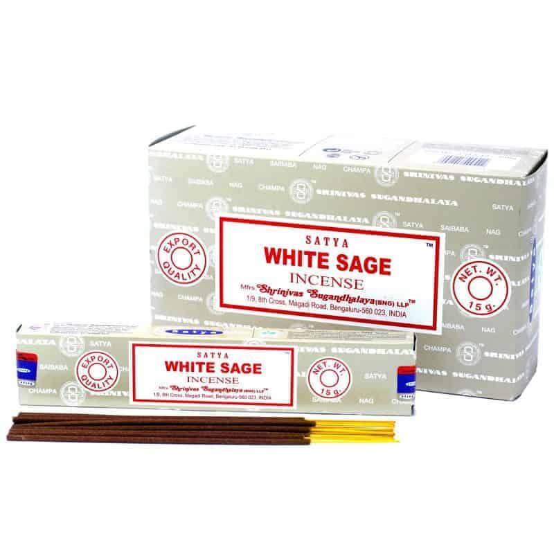 White Sage Satya Incense 15gm