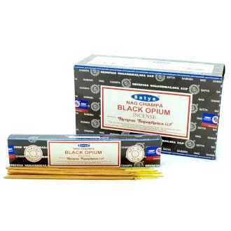 Black Opium Satya Incense Sticks 15g